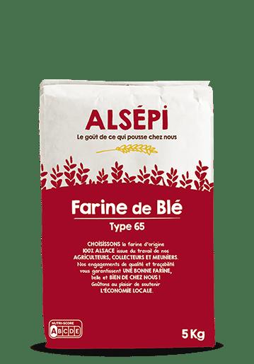 Sac de farine de blé Alsépi 5 kg